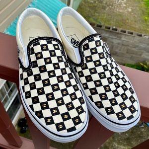 Vans Shoes | Chanel Custom Vans | Poshmark